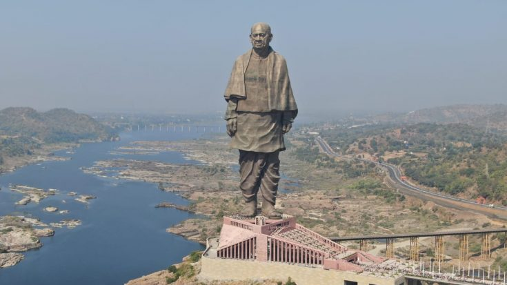 Statue of Unity outperforms Liberty lady in statue war whilst women safety still endures!