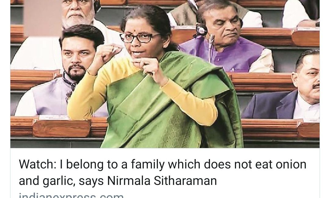 #SayItLikeNirmalaTai Meme Trends After the Funny Comment by Nirmala Sitharaman!